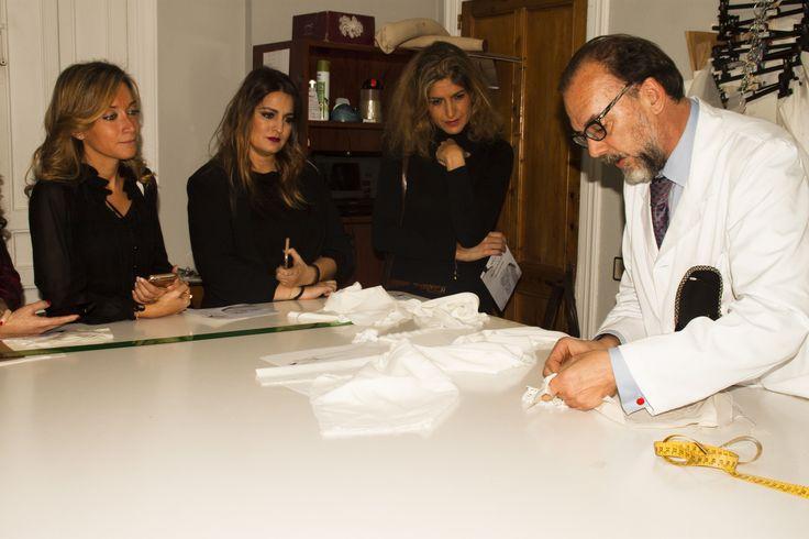 Creación de la colección. Josechu Santana, Begoña de Le Caprice, Jana Tárrago y Ana Argüelles.