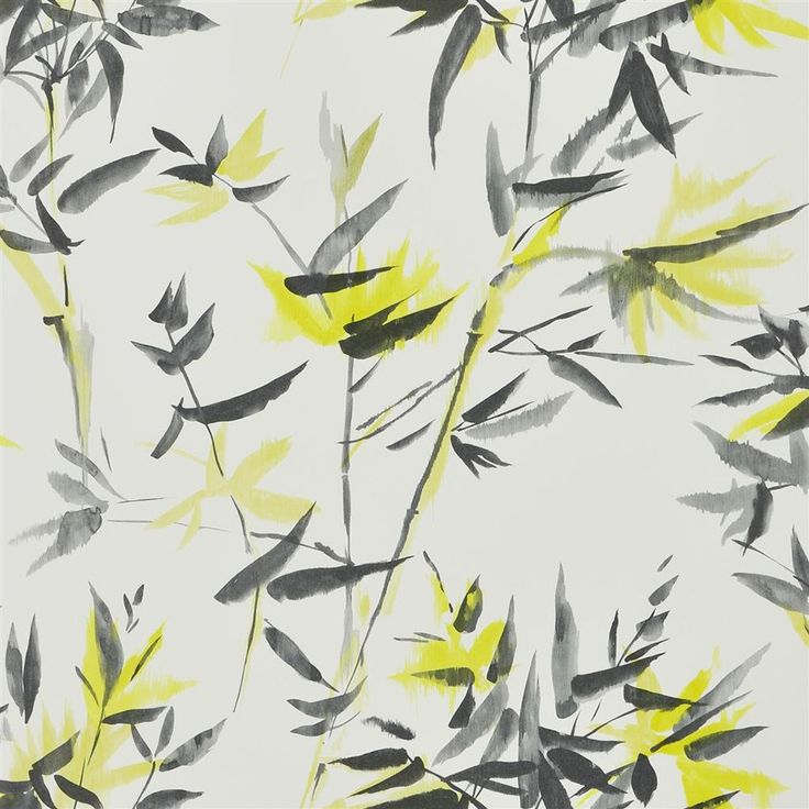 Create an exotic atmosphere in your living space with this Bamboo wallpaper from Designers Guild. Part of the Shanghai Garden collection it features distinctive leaves and stems and fuses contemporary