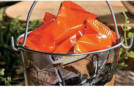 Hunting Camo Tin Pails 12-Pack