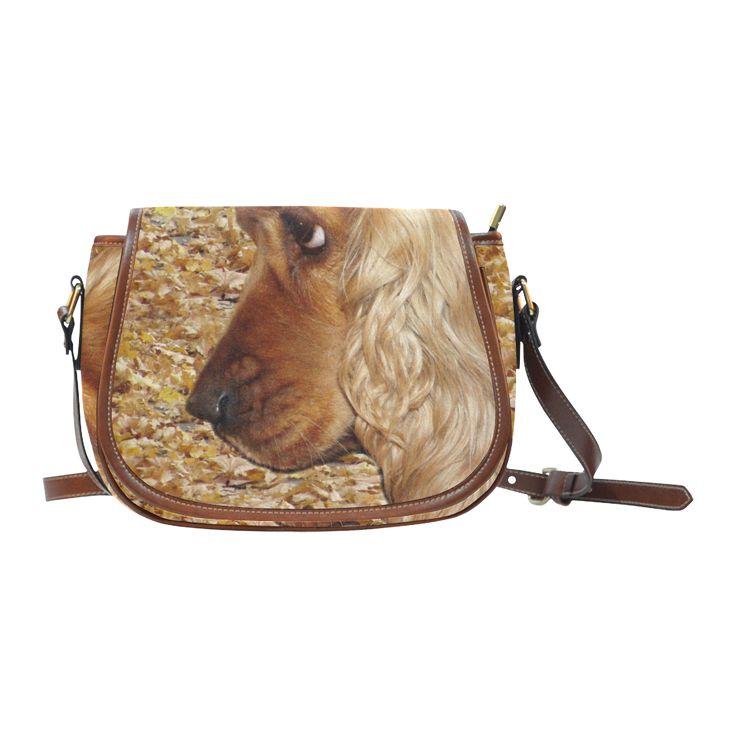 Cocker Spaniel Saddle Bag/Large (Model 1649)