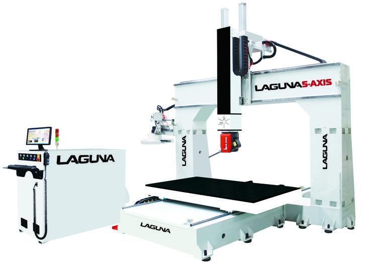 Laguna Tools new 5-axis cnc machine