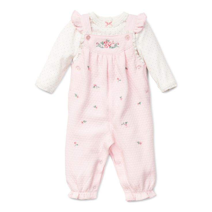 """Baby Overall Sets - """"Chateau Rose Overall Set"""""""