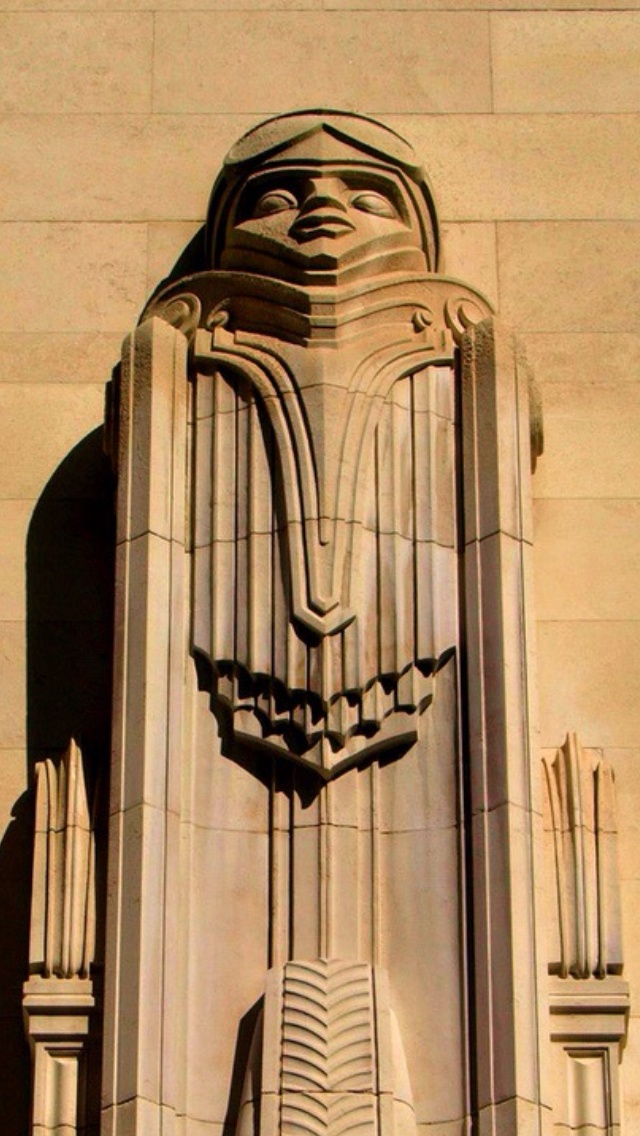 Art Deco Facade New York Tp Art Deco Art Nouveau