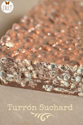 TURRON DE CHOCOLATE CRUJIENTE (Thermomix)