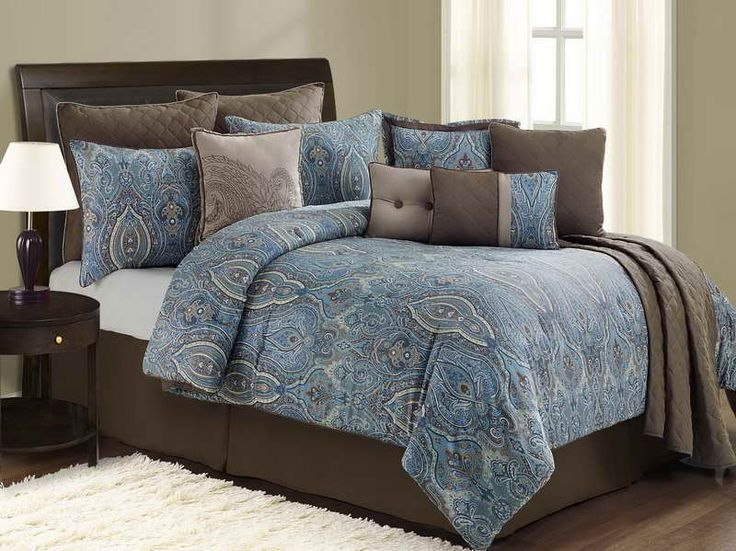 Blue And Brown Bedroom Set 61 best turquoise and brown bedding images on pinterest | brown