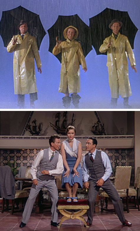 """Gosh I love Singin' in the Rain. They were the cutest trio of all time! """"Yah think I'm stupid or somethin'?"""""""