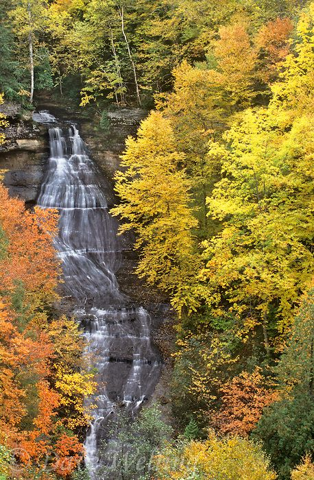 Chapel Falls, Upper Peninsula, Michigan