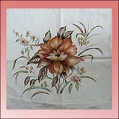 Fabric Painting Designs | Painting Designs, Tablecloth Painting Design,  Garment Painting Design .