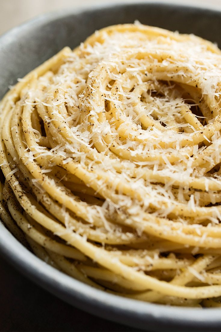 This peppery, cheesy classic pasta will be a hit at your next dinner party.