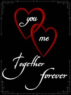 You and me together forever! ♥&♥