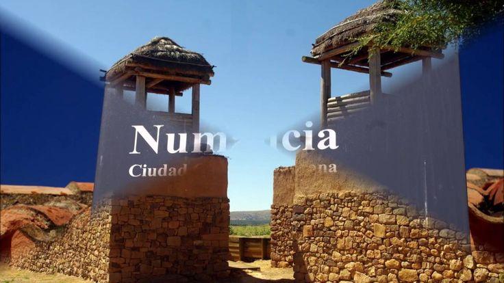 Sobre el Cerro de la Muela, en Garray, a siete kilómetros al norte de la actual ciudad de Soria se encuentra Numancia, población celtiberica desaparecida.