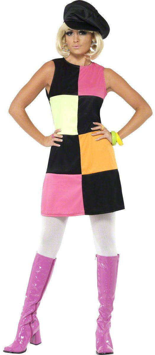 Retro Groovy 60s Adult Costume 60s Costumes - Mr. Costumes