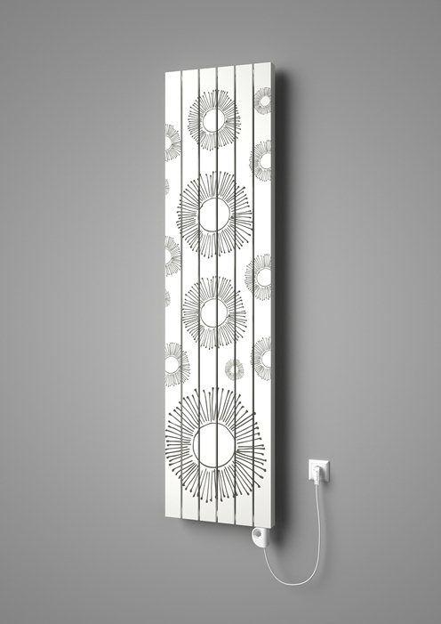 Designer radiator Vital with printed motif