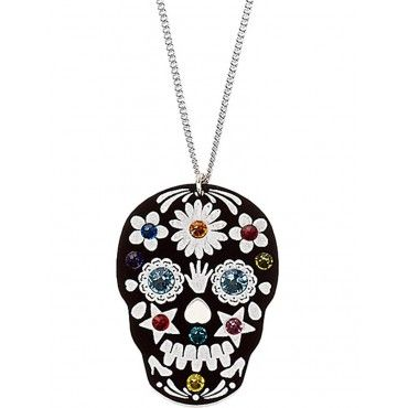 Sugar Skull Necklace from Tatty Devine $49
