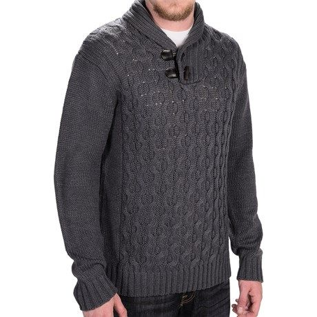 Weatherproof Cable Sweater (For Men))