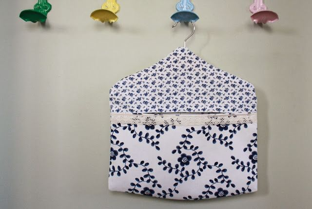 How to Make a Peg Bag - Tales from a happy house.