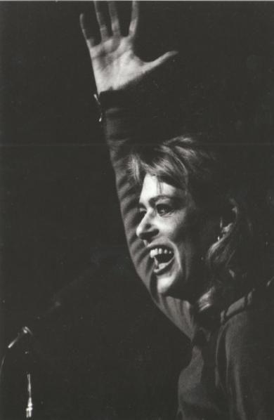 Melina Mercouri in Paris, 1968:
