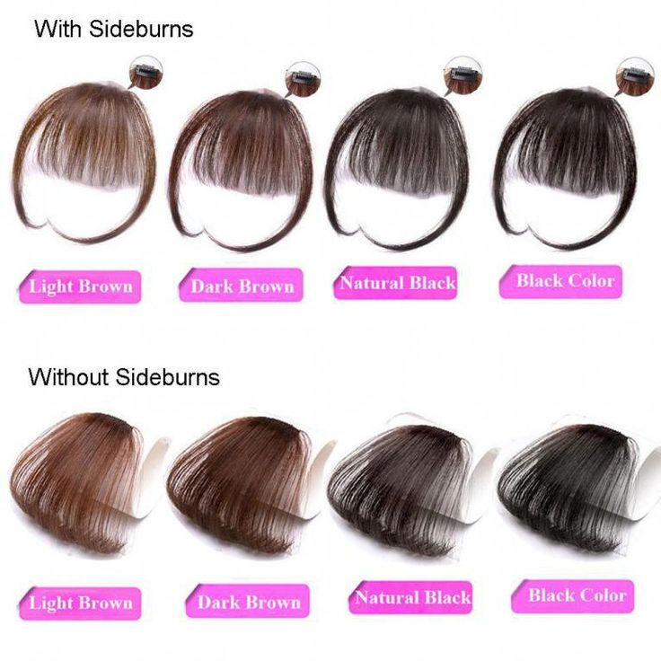 shinon women real human hair thin neat clip in front bangs fringe extensions straight 100% china daily,party 1