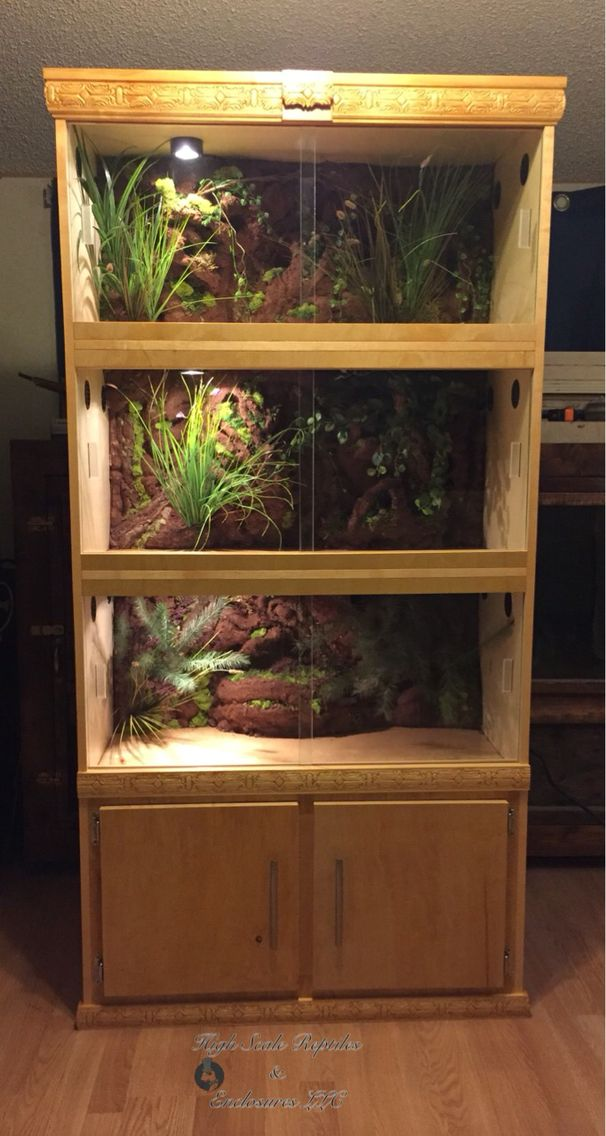 Custom Reptile Enclosures www.facebook.com/Highscalenclosures