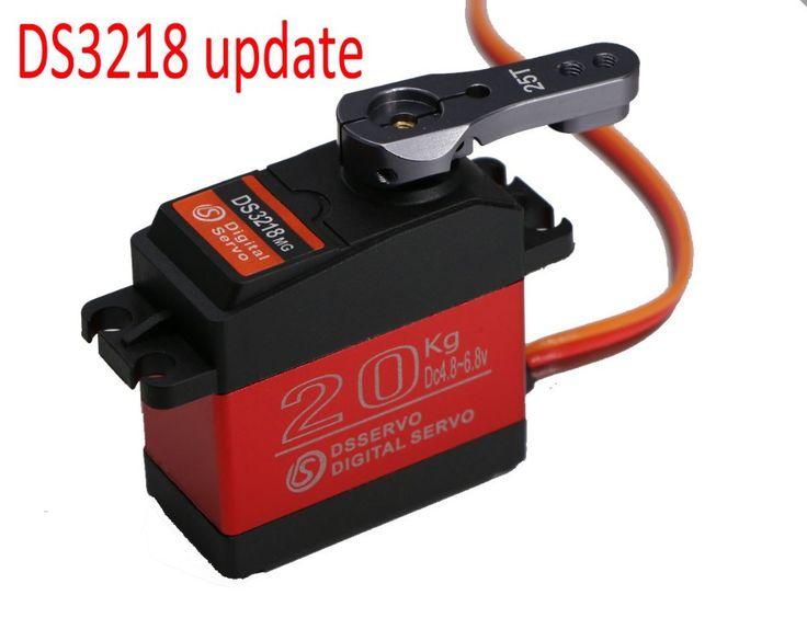 4X DS3218 update RC servo 20KG full metal gear digital servo  baja servo  Waterproof servo for  baja cars+Free Shipping