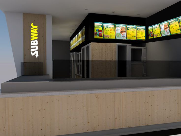 Subway renders