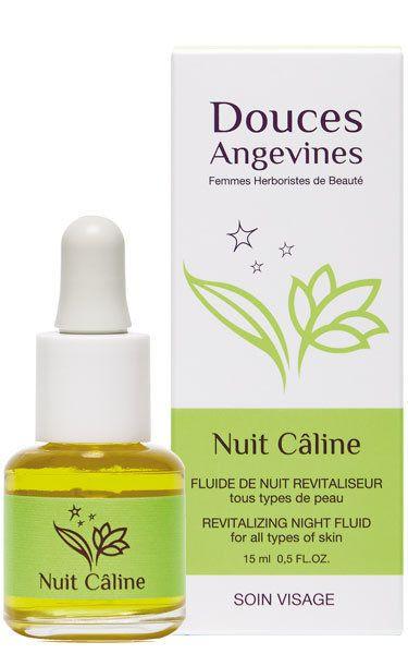 Nuit Câline fluide de nuit BIO revitaliseur, anti-âge, tous types de peaux - Douces Angevines cosmétiques
