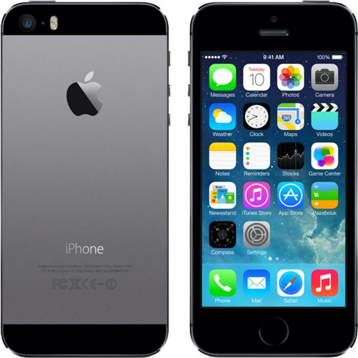 Apple iPhone 5S 16GB Space Grey - Refurbished Phone | Buy iPhone 5