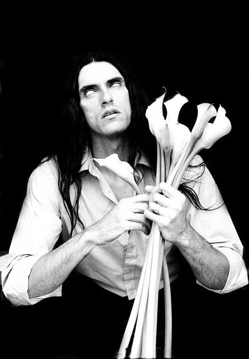 """""""People laugh at me because I get in the shopping cart and push myself down the aisle, like, knocking over cereals. People are laughing at me. Then I pull over and I'm like [in lowered voice], 'The day will come when you will never laugh again."""" -- Peter Steele"""