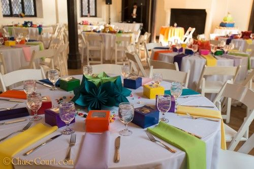 Colored Wedding Table Linens Colored Wedding Table