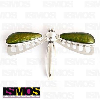 ISMOS Joyería: prendedor de plata y esmalte // ISMOS Jewelry: silver and enamel brooch