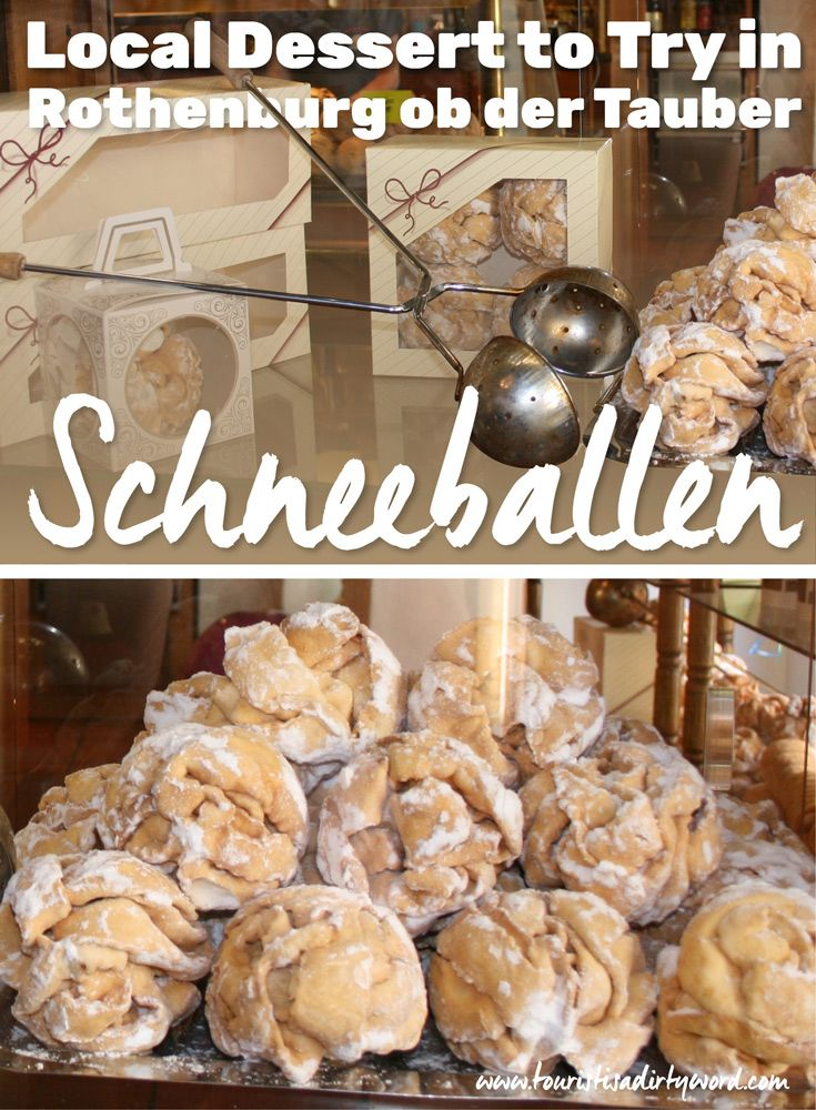 Beautiful, tempting, delicious Schneeballen...another reason to love Rothenburg, Germany!