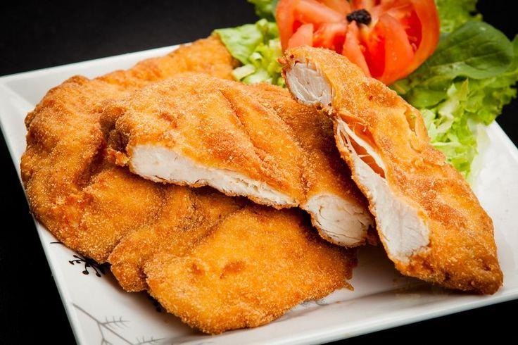 COMIDINHAS FÁCEIS: Filé de frango a milanesa