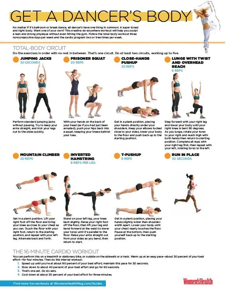 Best 25+ Dancer workout plan ideas on Pinterest Belly excersises - weekly exercise plans