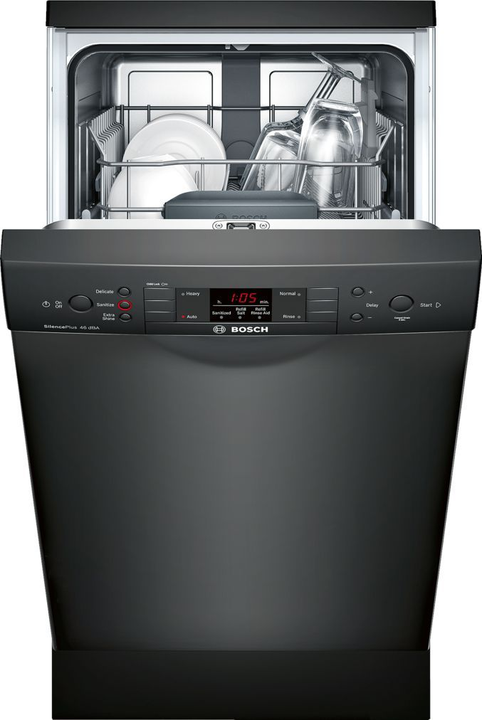 Bosch Spe53u56uc Dishwasher Built In Dishwasher Steel Tub Dishwasher