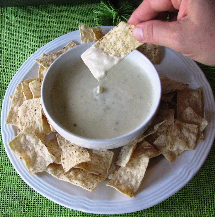 Mexican White Queso Dip: Queso Dip, Dip White, White Cheese Dips, Food ...