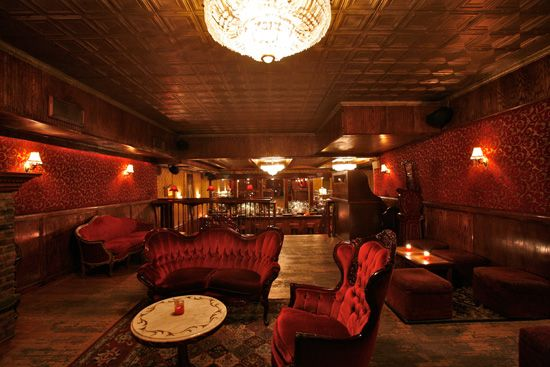 The Back Room, NYC  An actual speakeasy I visited that was used during the prohibition days!