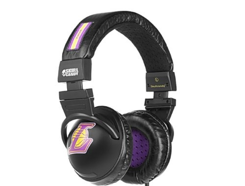 skullcandy sghebz 18 kobe bryant hesh dj headphone (black with nba lakers colors)