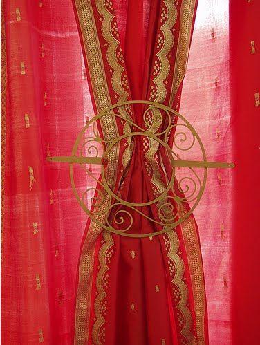 Sari Curtains Drapes Thefind Loving This Quot Tie Back