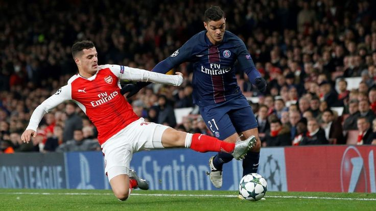 Arsenal's Francis Coquelin hails Granit Xhaka's quality on the ball