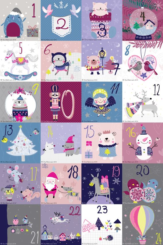 Gigi's Drawings: Day 24 - Advent Calendar