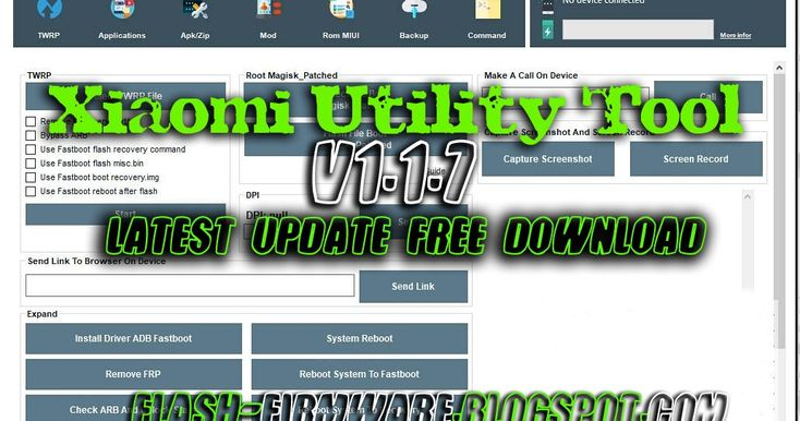 Xiaomi Utility Tool V1 1 7 Latest Update Free Download In 2020