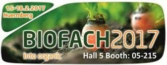 Organic Products India to participate in the 'BIO-FACH 2017' - Nuremberg, Germany  https://www.prlog.org/12608077-organic-products-india-to-participate-in-the-bio-fach-2017-nuremberg-germany.html