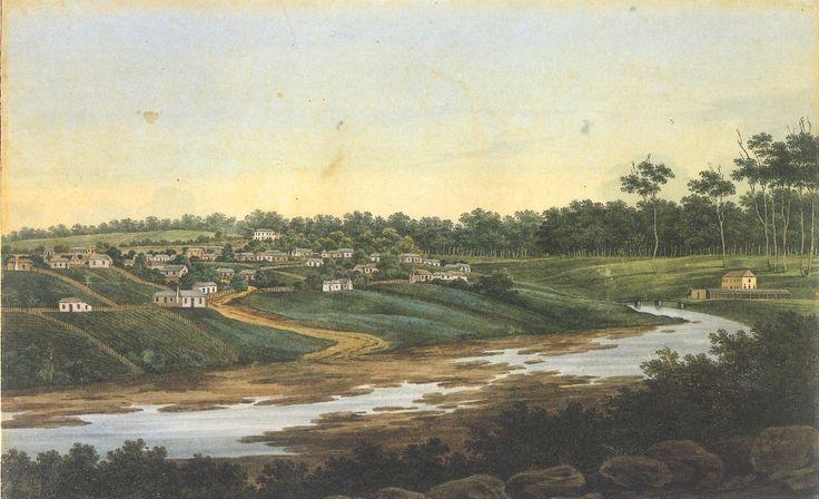The Parramatta Gaol Bridge, 1802-1837