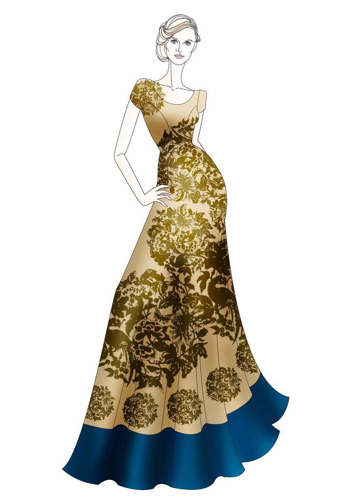 indian fashion design sketches dresses wwwimgkidcom