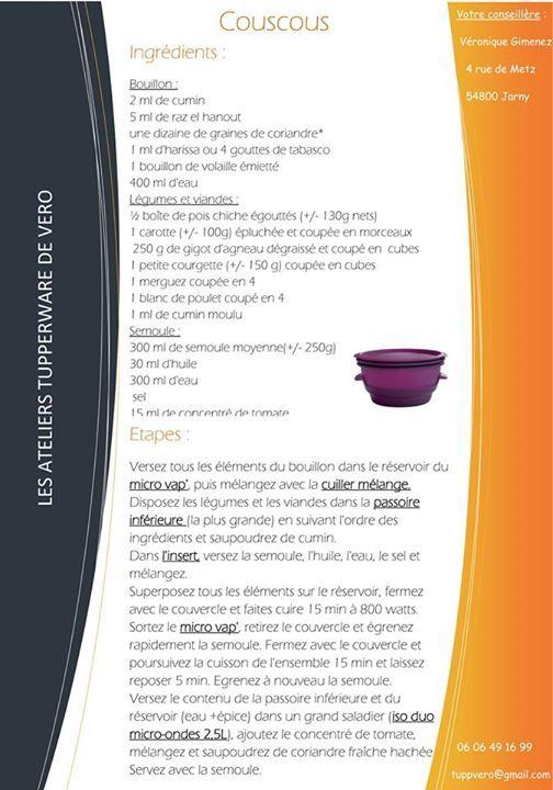 Couscous - Tupperware