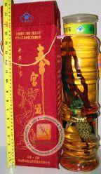 Лечебная настойка на змее с краном для наливания - 2.5 литра - 38% спирта (змеиное крепкое вино) с ядом кобры, женьшенем, годжи, листьями травы долголетия. Подарочная коробка! Отличный и достойный подарок! Китай.