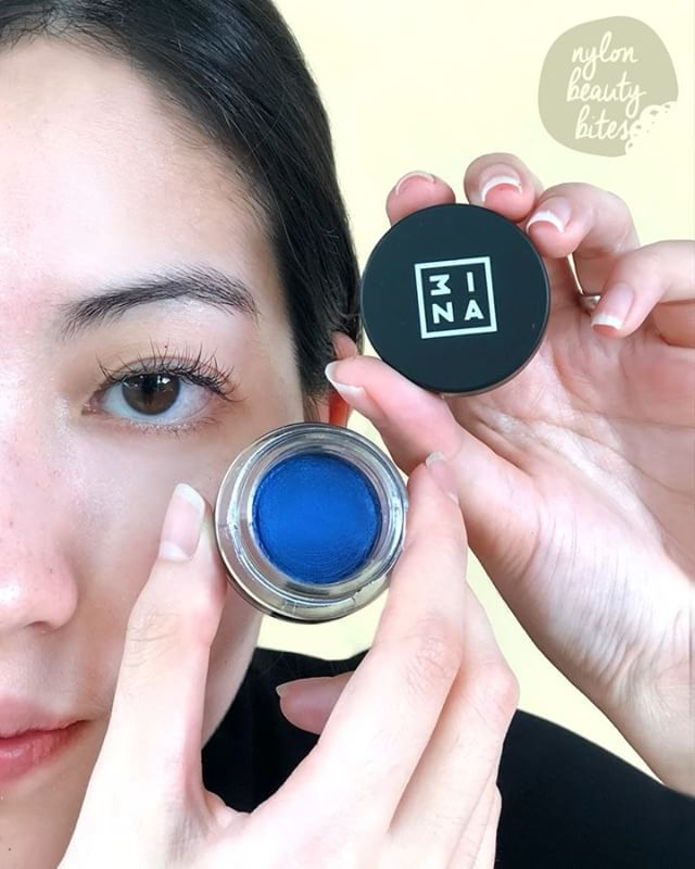 Intense shimmery magnetic colour for all day wear. All you need is a tiny amount of bold electric blue. Featuring @3ina The Cream Eyeshadow in 305 $19. Available at 3INA Tampines Mall and ION Orchard (ION Linkway). #3inamakeup #3inalovessg #nylonsgbeauty #nylonsgbeautybites via NYLON SINGAPORE MAGAZINE OFFICIAL INSTAGRAM -Celebrity  Fashion  Haute Couture  Advertising  Culture  Beauty  Editorial Photography  Magazine Covers  Supermodels  Runway Models