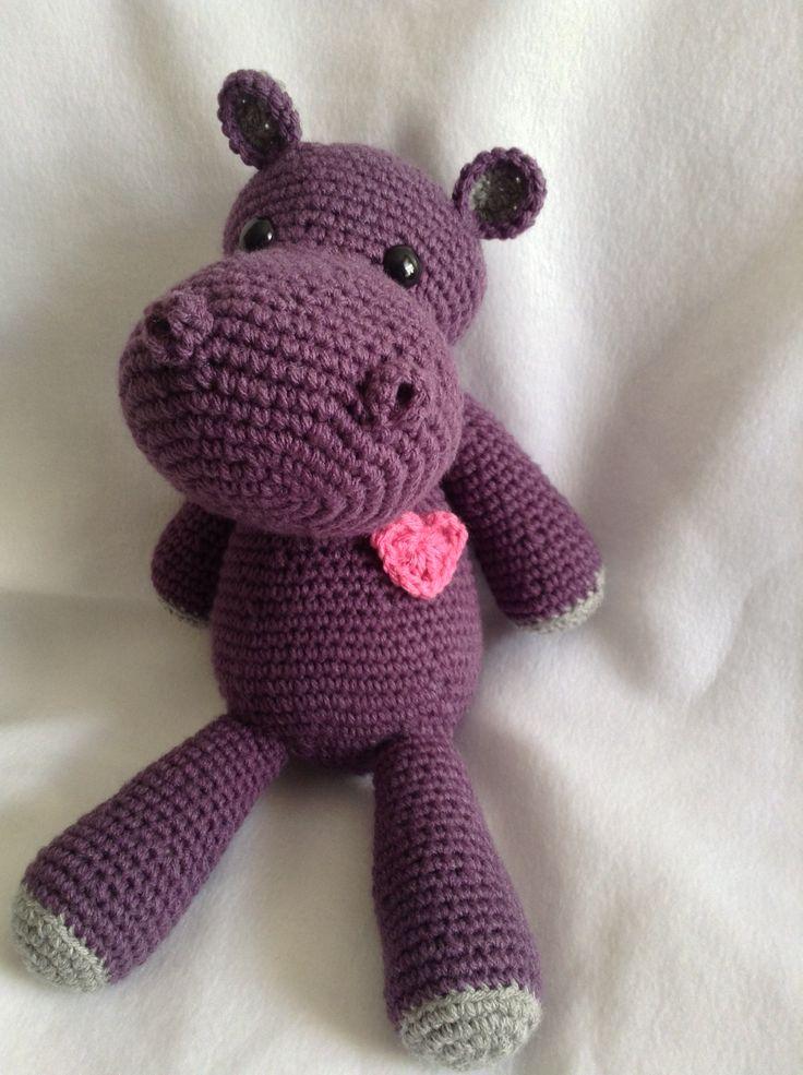 17 Best ideas about Crochet Hippo on Pinterest Crochet ...
