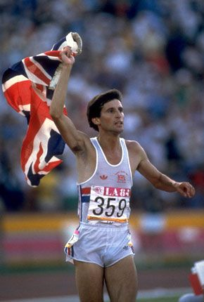 Lord Sebastian Newbold Coe, Baron Coe CH KBE. Won Olympic 1500 Gold medal in 1980,84.Set 8 outdoor and three indoor world records. B. 1956.