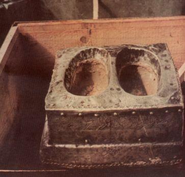 Footprints of Ibrahim alayhis-Salaam.